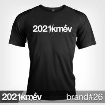 2021 / év / km - BRAND 26 póló - FÉRFI