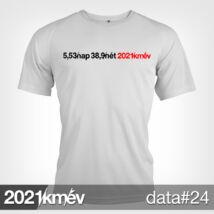 2021 / év / km - DATA 24 póló - FÉRFI