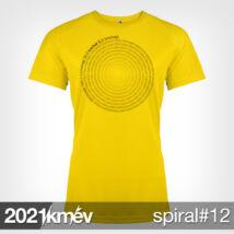 2021 / év / km - SPIRÁL 12 póló - NŐI