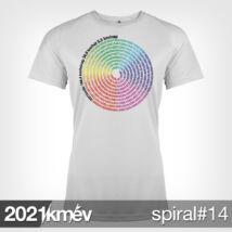 2021 / év / km - SPIRÁL 14 póló - NŐI