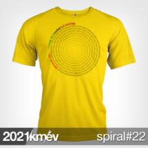 2021 / év / km - SPIRÁL 22 póló - FÉRFI