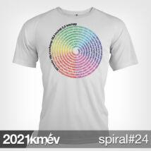 2021 / év / km - SPIRÁL 24 póló - FÉRFI