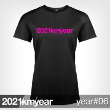 2021 / year / km - YEAR 06 t-shirt - WOMAN