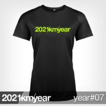 2021 / year / km - YEAR 07 t-shirt - WOMAN