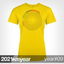 2021 / year / km - YEAR 09 t-shirt - WOMAN