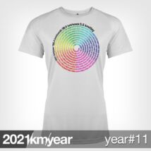 2021 / year / km - YEAR 11 t-shirt - WOMAN