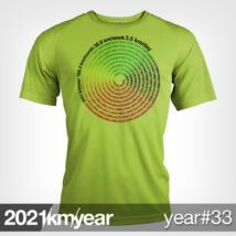 2021 / year / km - YEAR 33 t-shirt - MAN