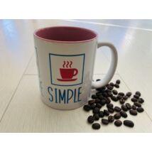 Simple needs bögre