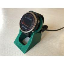 Ultramarine-zöld Garmin töltő-tartó