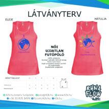 Egyedül futok - UV PINK női trikó INGYENES SZÁLLÍTÁSSAL!