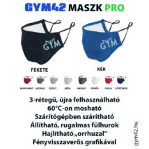 GYM42 MASZK PRO - GYM logóval