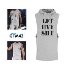 Lift heavy shit - muscle hoodie - szürke