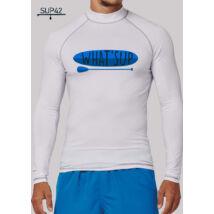 UV-védős hosszú ujjú SUP póló - What's Up?